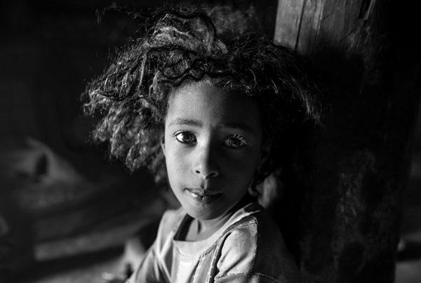 Ethiopia portrait girl eyes retrato Etiopía bnw black&white blancoynegro Ethiopien madchen