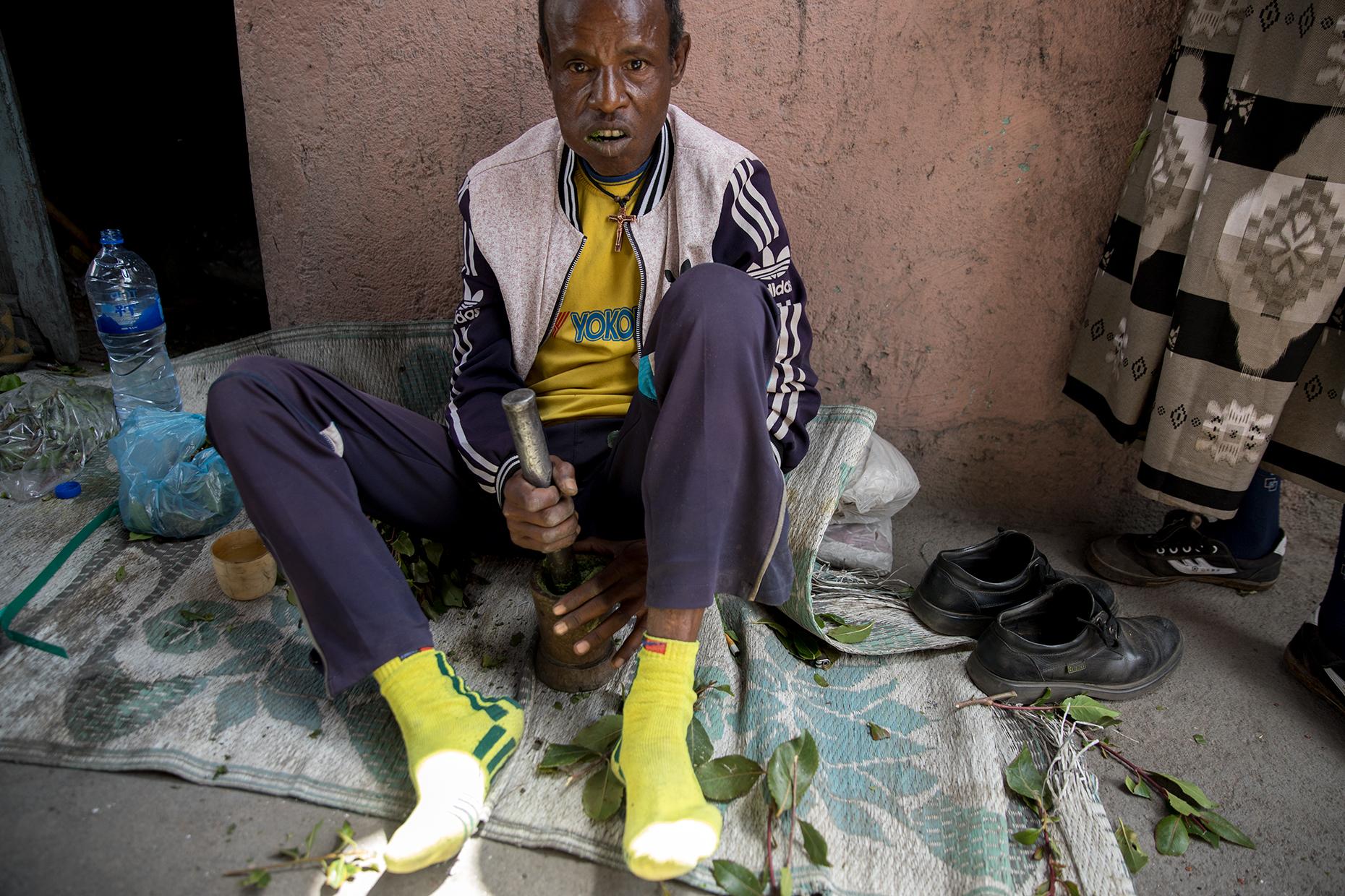khat ethiopia harar paste consumer